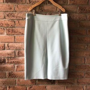 HUGO BOSS   Mint green size 14 pencil skirt